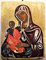 Pittore cretese, madonna della consolazione, xvi secolo 01.jpg