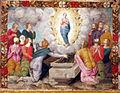 Pittore tosco-emiliano, misteri del rosario, 1550-1600 circa 15 asssunzione di maria.JPG
