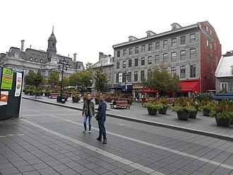 Old Montreal - In the early 21st century, the City of Montreal began a revitalization effort of several areas in Old Montreal, including Place Jacques-Cartier.