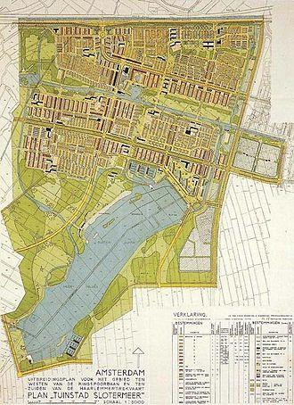 Amsterdam Nieuw-West - Plan Slotermeer, 1939