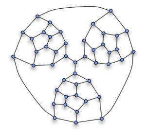 Tait's conjecture - Image: Planar Non Hamil