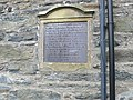 Plaque on the almshouses, Ysbyty Ifan - geograph.org.uk - 1170469.jpg