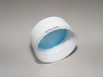 Plastic bottle - A plastic bottle cap.