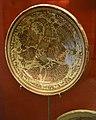 Plat, pisa daurada de Manises, sèrie pardalot, museu de Ceràmica de València.JPG