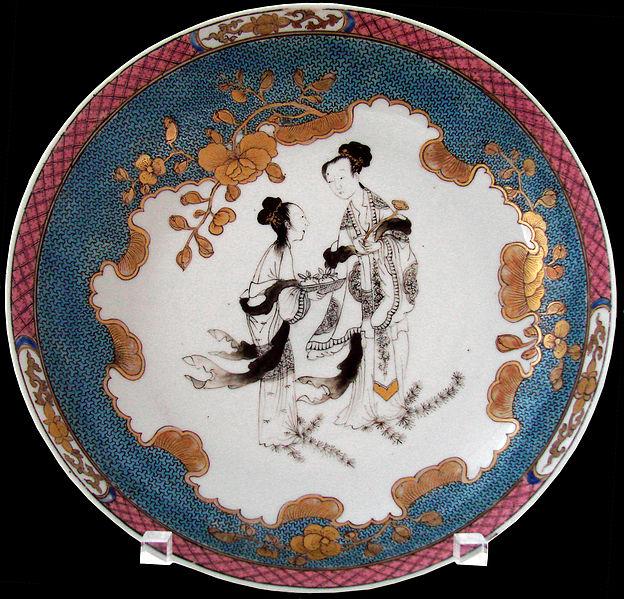 File:Plat à décor (Chine, musée Guimet) (5422520461).jpg