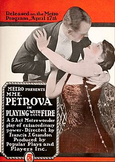 <i>Playing with Fire</i> (1916 film) 1916 film