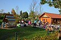 Playing garden Houten at 1 November 2014, the warmest day since start of the temperature registration in 1707^^ More then 18 degrees, so rather busy with children and their parents - panoramio.jpg