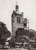 Plock, Clock Tower, 1963.jpg