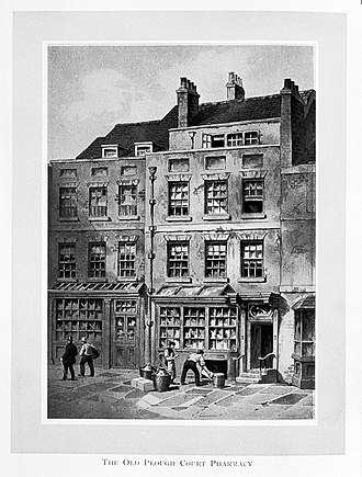 William Allen (Quaker) - The Old Plough Court Pharmacy