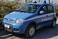 Police car in Friuli-Venzia Giulia, Italy.jpg