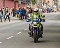 Police motorcycle Stockholm Marathon 2013.jpg