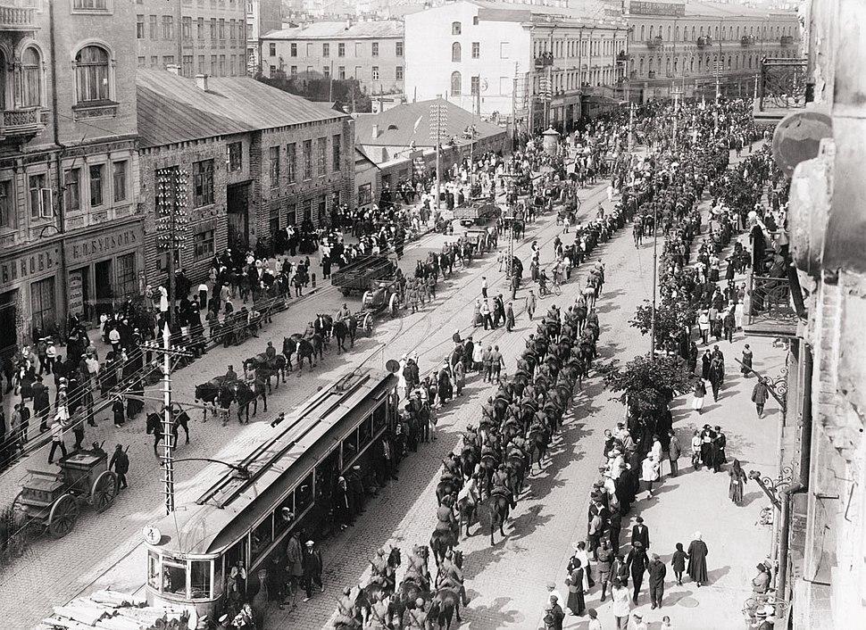 Polish troops in Kiev