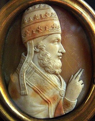 Laudabiliter - Cameo of Pope Adrian IV