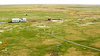 Bely Island - Popov Polar Station.