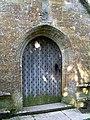 Porch door, All Saints Church, Hilton - geograph.org.uk - 985982.jpg