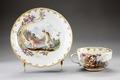 Porslins kopp med fat från 1760-talet - Hallwylska museet - 93841.tif