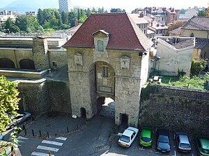 Bastille (Grenoble) - Porte Saint Laurent (1615)