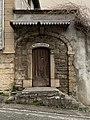 Porte en bois de la Villa des Sources à Miribel (Ain) - 2.jpg