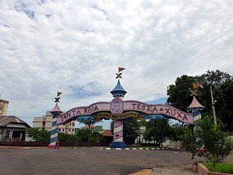 Xuxa - Portico da Xuxa in Santa Rosa, Rio Grande do Sul.