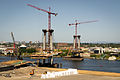 Portland–Milwaukie Light Rail Bridge Construction-2.jpg