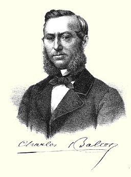 Porträt Charles Appolinaire Baltet Pomologische Monatshefte 1867