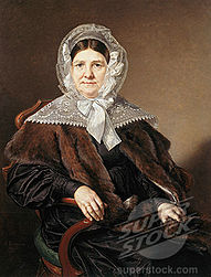 Portrait Of A.F. Mazurina 1839 Vasily Tropinin
