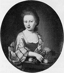 Jacoba Magtelda Rijswijk. Daughter of the Amsterdam merchant Theodoor Rijswijk (1668-1729) and Elisabeth Hollaer