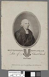 James Fittler: Revd. Nathaniel Rowland A.M