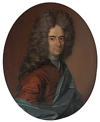 Portrait of a Man, probably Mathias Lambertus Singendonck (1678-1742), Burgomaster of Nijmegen