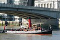 Portwey passing under London Bridge - geograph.org.uk - 1498573.jpg