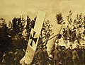 Possible Austrian plane shown down during the Italian offensive of May 1917 (28800116455).jpg