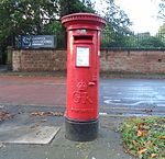 Post Box, South Sudley Road.jpg