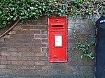 Post box on Zig Zag Road, Wallasey.jpg