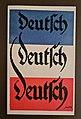 """Postkarte """"Deutsch, deutsch, deutsch"""" zur Volksabstimmung in Nordschleswig von 1920.jpg"""