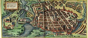 Royal city in Poland - Poznań in the 17th century