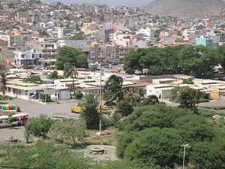 Achadinha (Praia) Neighborhood in Praia, Santiago Island, Cape Verde