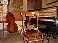 Preservation Hall - Chair, Piano, String Bass.jpg