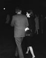 President John F. Kennedy Greets First Lady Jacqueline Kennedy upon her Return from India.jpg