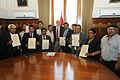Presidente del Congreso realizó reconocimiento a alcaldes de Ayacucho (6911705353).jpg
