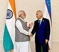 Prime Minister Narendra Modi and Uzbekistan President Islam Karimov.jpg