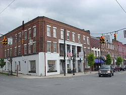 Prince Hotel Tunkhannock Historic District May 09.jpg