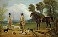 Pringle A Sportman Talking to his Beater After Coursing.jpg