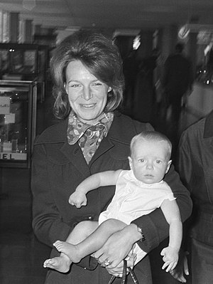 Prince Carlos, Duke of Parma - Prince Carlos with mother Princess Irene.