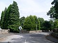 Private road to Whitecraigs Bowling Club - geograph.org.uk - 1421664.jpg