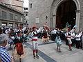 Processó de Sant Bartomeu - 14 Agrupació Folklòrica Igualadina - Galop La Gitana.JPG