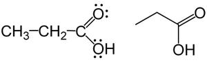 Struktura kyseliny propionové.png