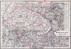 Provinz Westfalen 1905