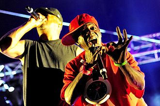 Flavor Flav - Flav performing in 2011