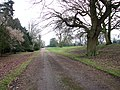 Public footpath to Roudham Hall - geograph.org.uk - 1701453.jpg