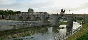Las Acacias (Madrid) - Image: Puente de Toledo (Madrid) 04b